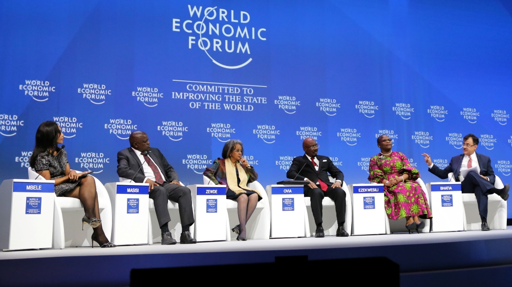 Heads of states attend the World Economic Forum on Africa in Cape Town