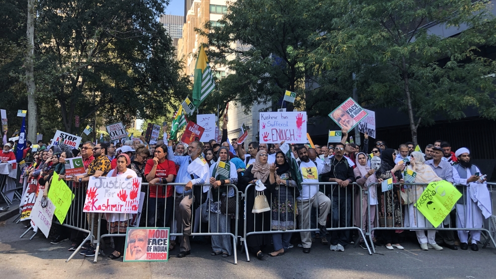 New York: Thousands rally for human rights in Kashmir