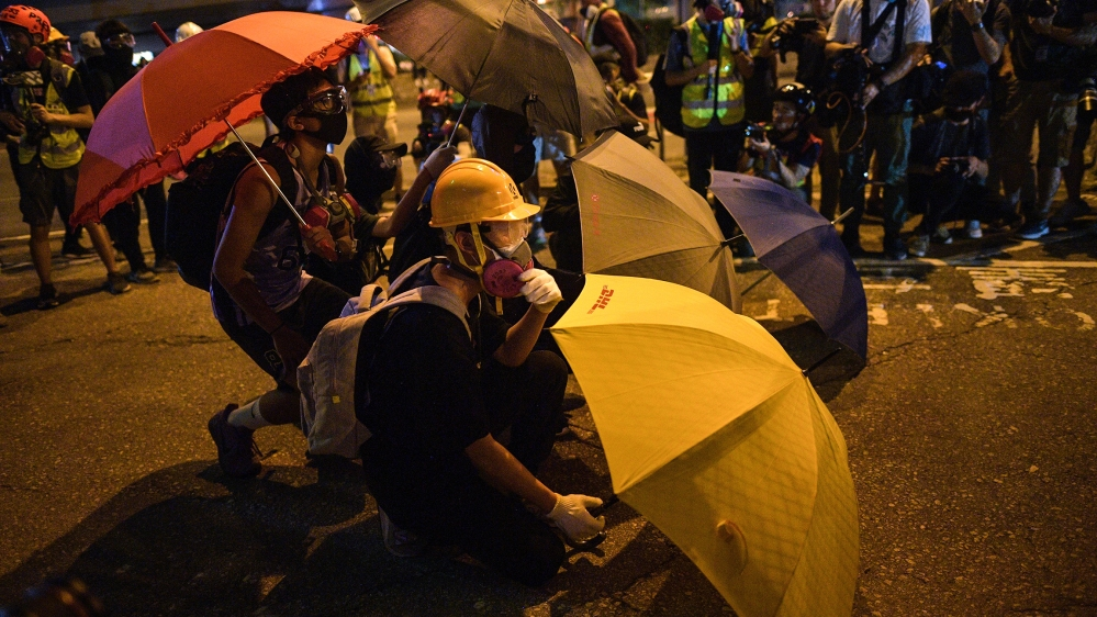 Hong Kong protesters mark 5th anniversary of Umbrella Movement ...