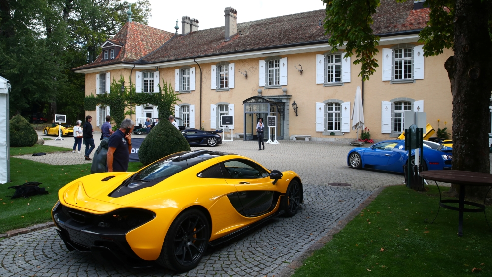 Switzerland to auction cars seized from E Guinea leader's son