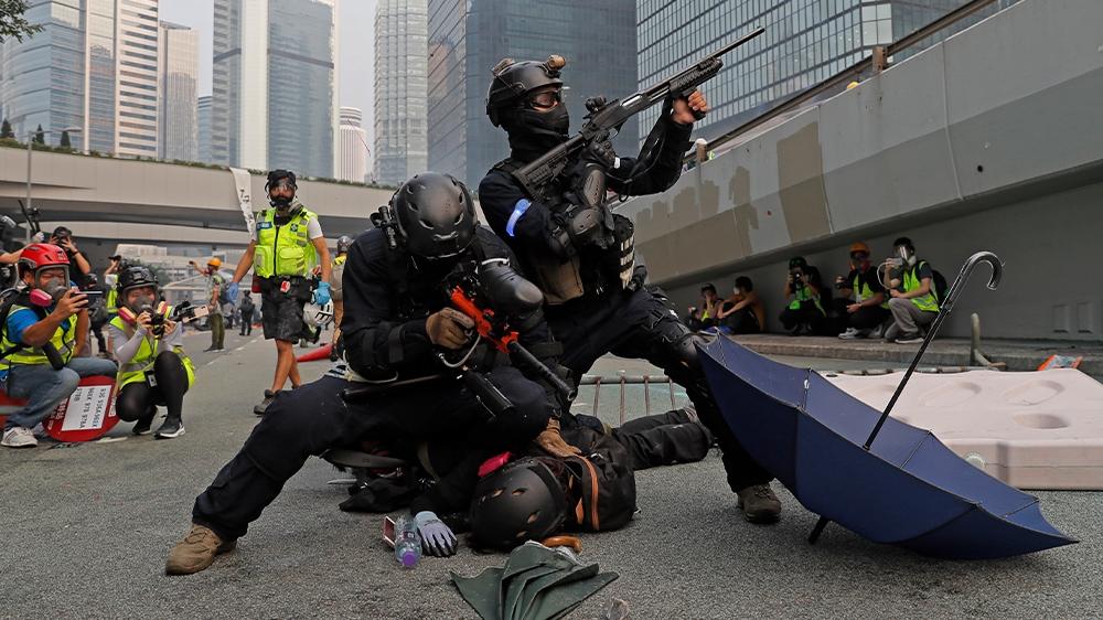 Hong Kong on edge ahead of China anniversary, after weekend chaos