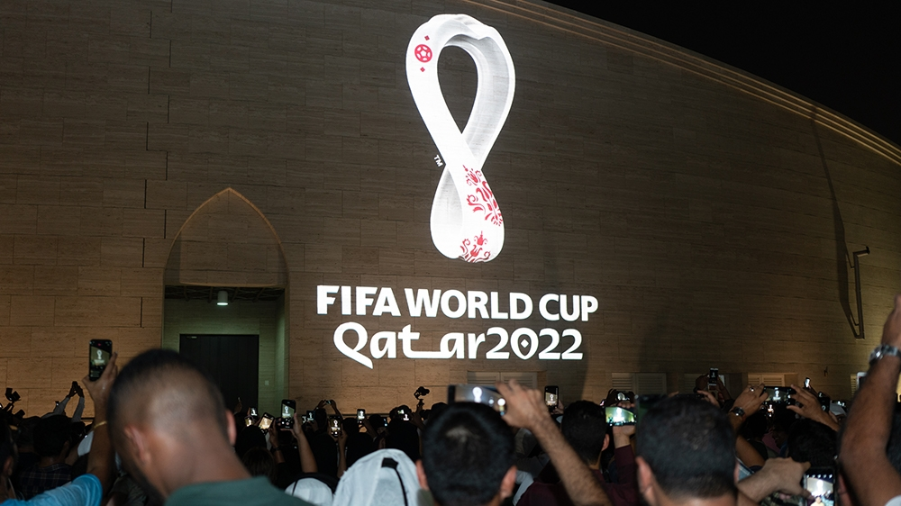 World Cup 2020 Commercials.Qatar 2022 Football World Cup Logo Unveiled Qatar News