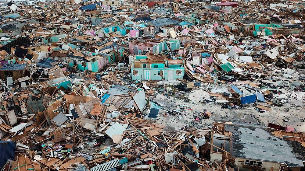 Death and destruction stalks Bahamas in wake of Hurricane Dorian