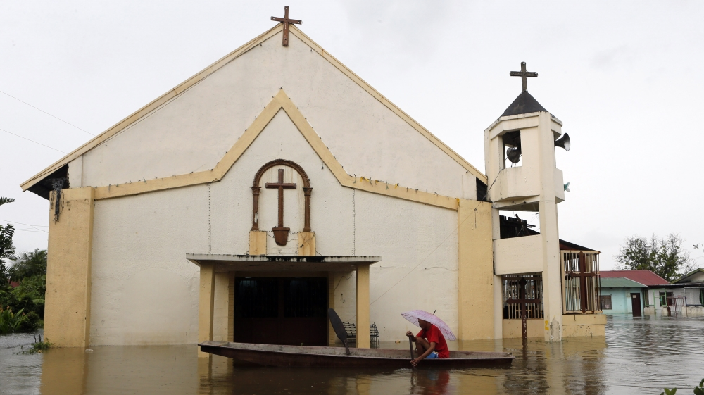 Bulacan, Philippines flooding