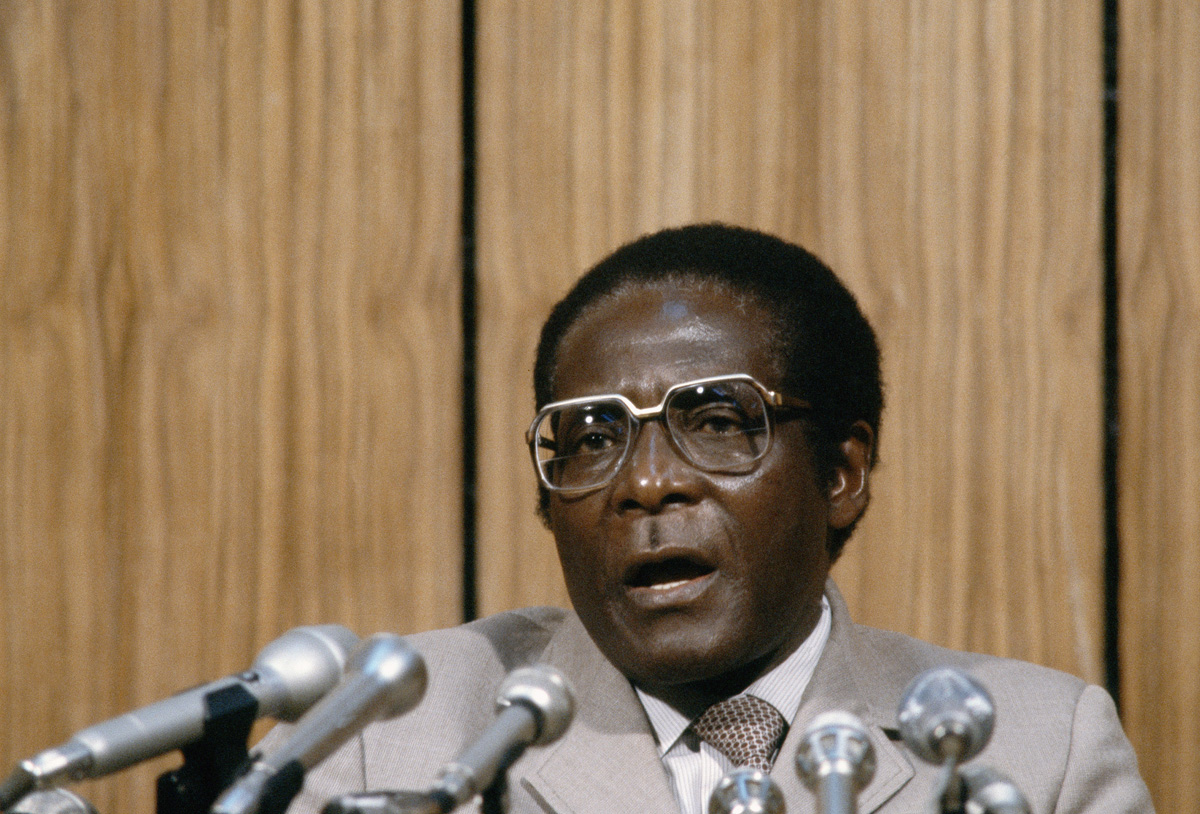 Mugabe embraced socialism. He spent 11 years in jail, waging a rebellion from behind bars. After Zimbabwe's Independence, Mugabe was elected prime minister. After two terms, he abolished the position and became president in 1987, a post he held for 30 years. [AP Photo]