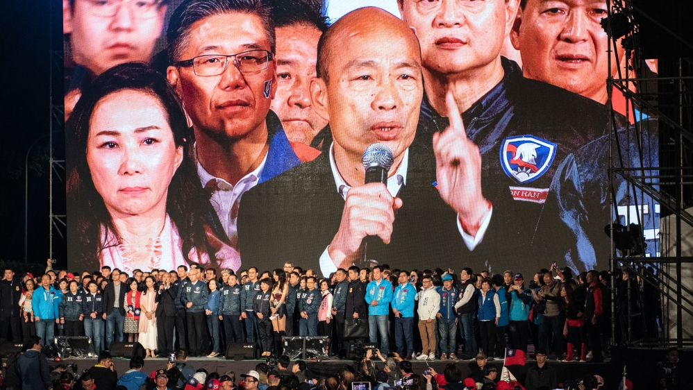 Han Kuo-yu Campaigns as Taiwan Election Approaches