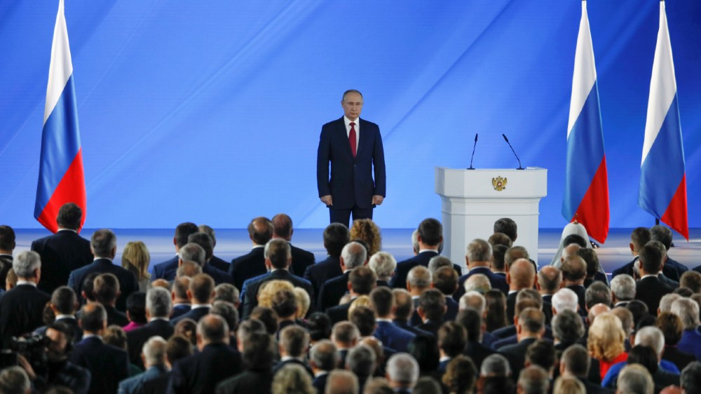 Putin state of the nation - reuters
