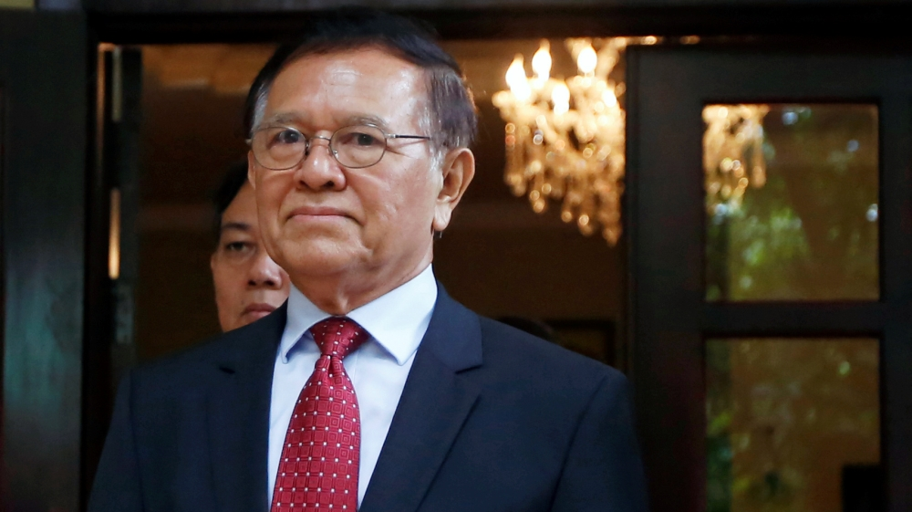 Cambodia: 'Treason' trial for opposition leader begins thumbnail