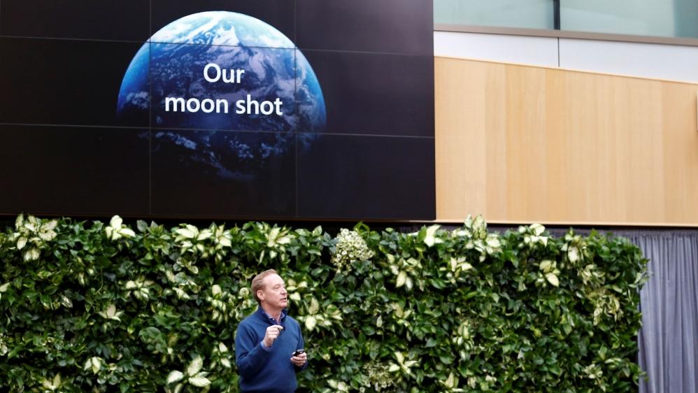 Microsoft, Citi, Walmart make corporate climate A list - Aljazeera.com thumbnail