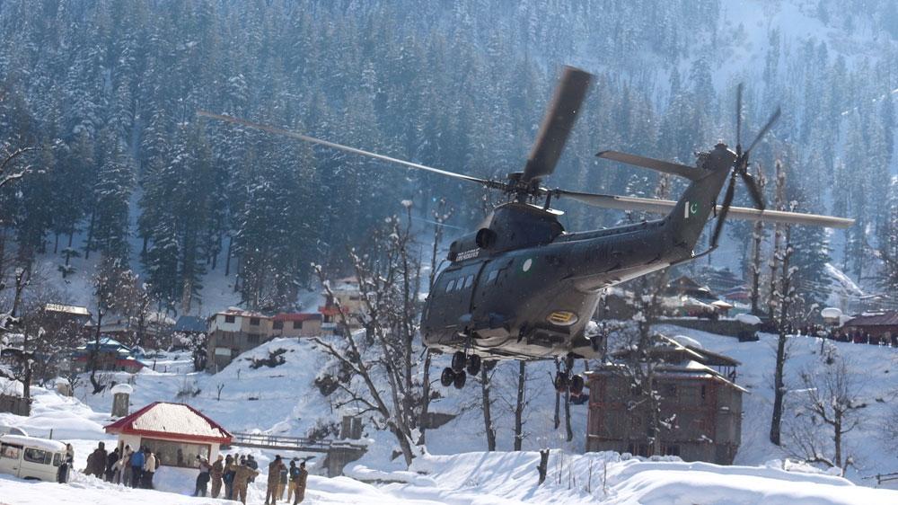 Pakistan rescue operation