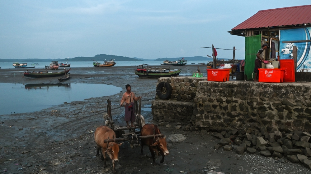 MYANMAR-CHINA-ECONOMY