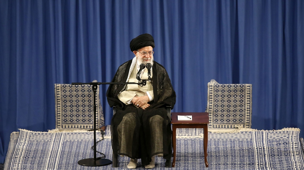 Iran's Khamenei says US Middle East plan 'will die before Trump' thumbnail