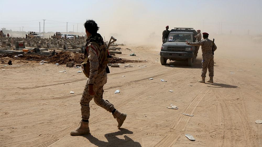 Dozens of Yemeni soldiers killed in Marib military camp attack