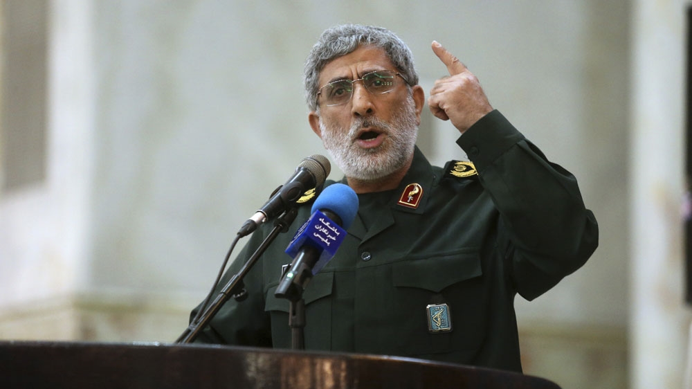 Iran's new Quds Force leader vows 'manly' revenge for Soleimani thumbnail