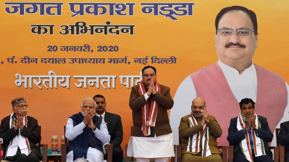 Jagat Prakash Nadda, newly elected President of BJP