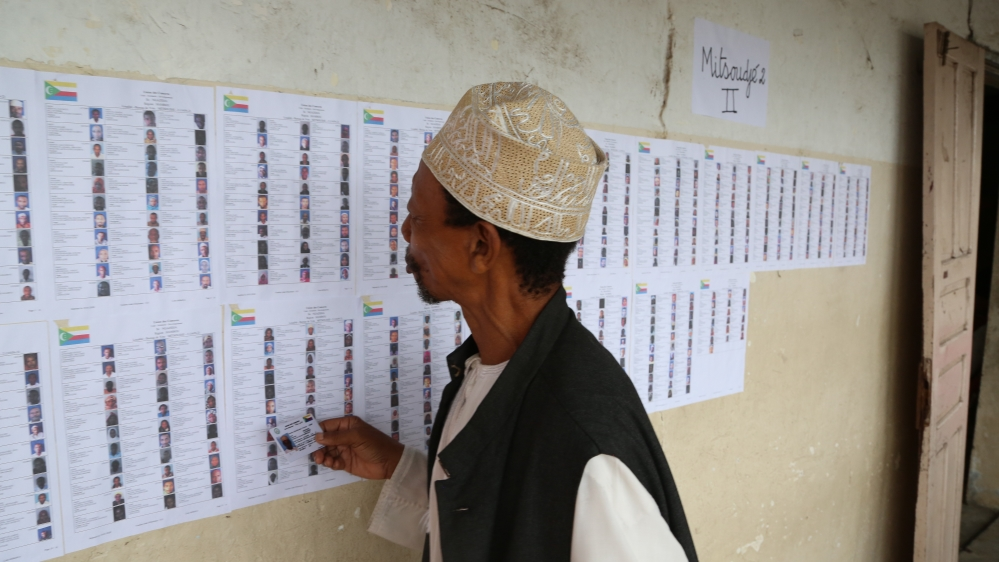 Comoros parliamentary election