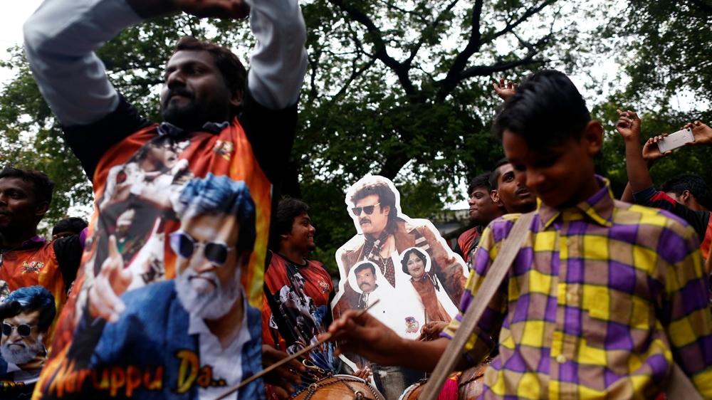 Why Indian Film Star Rajinikanth Is Facing Criticism In His State News Al Jazeera