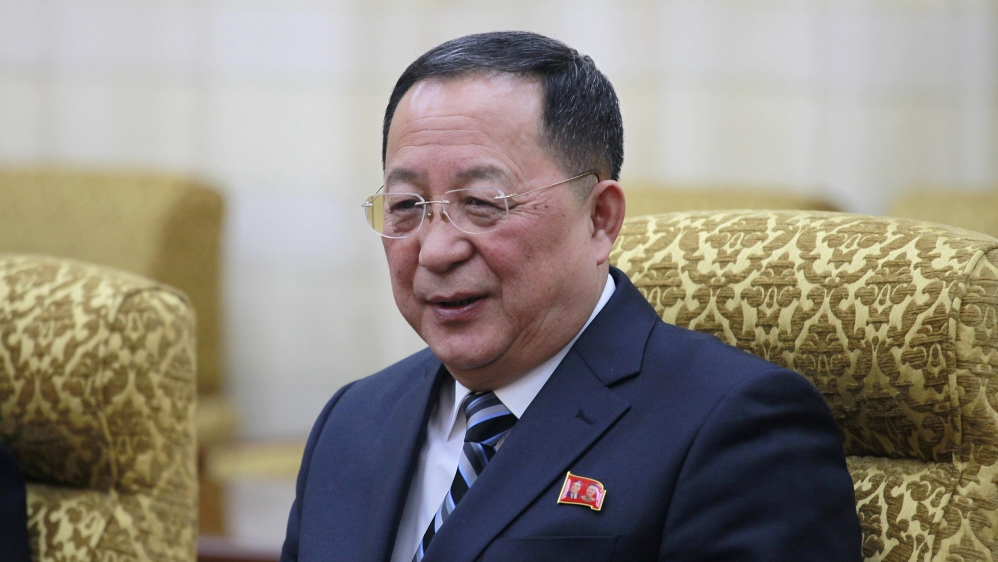 North Korea Names Ex-Army Officer as New Foreign Minister
