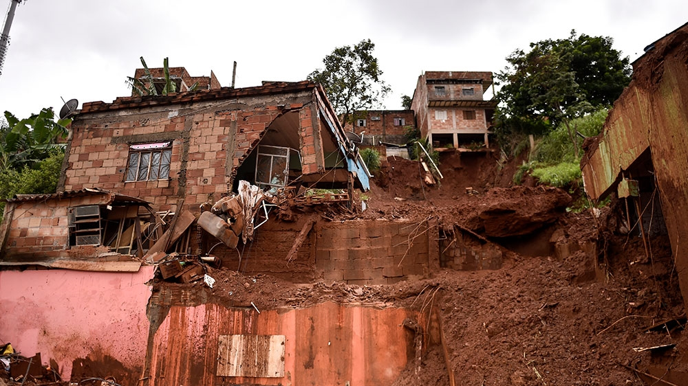 Brazil rainstorms: Death toll climbs to 44