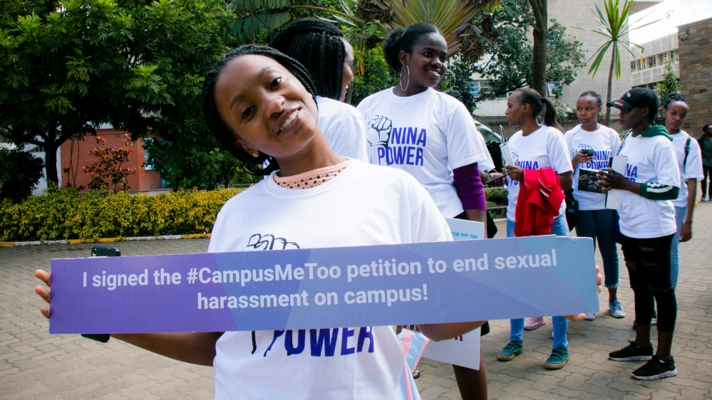 Kenya Campus harassment/Louise Donovan