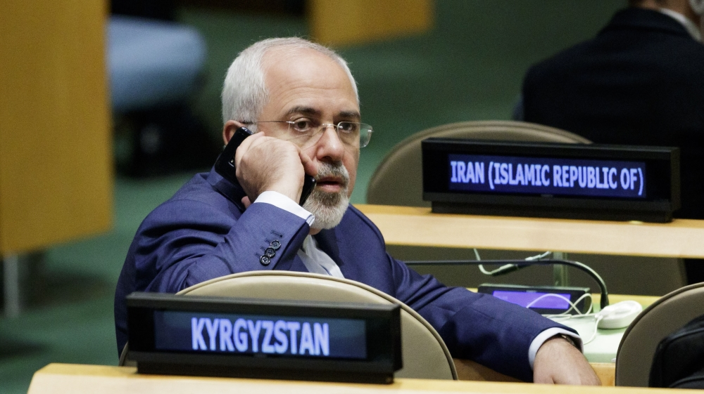 US denies Iran's Zarif a visa to attend UN - US official thumbnail