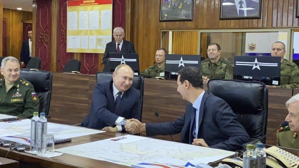 52b05f152deb41eea26c7588b40947ae 18 - Putin meets Assad in rare Syria visit amid US-Iran tensions | Russia News