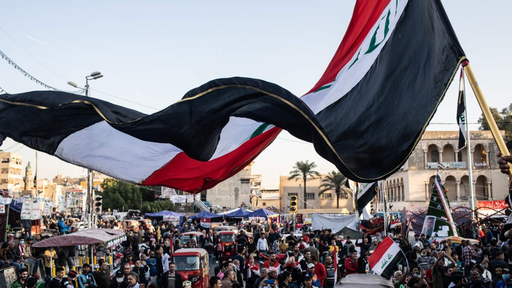 Baghdad Protests Sustained By Support From The Sidelines