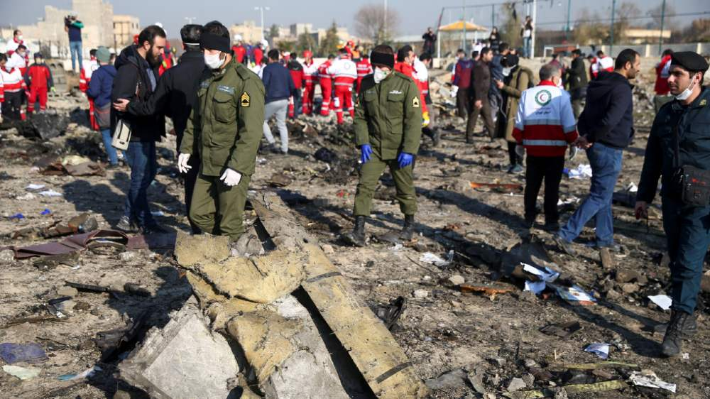 Iran: Ukraine plane caught fire but crew never called for help