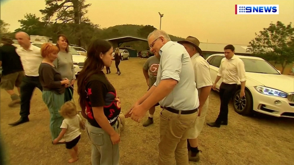 Australia fires Morrison