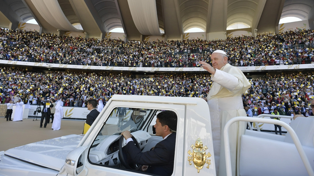 Pope Francis UAE mass