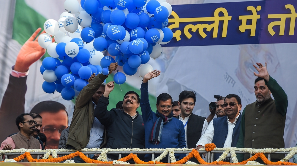 New Delhi election: Kejriwal's AAP stuns Modi's BJP with huge win