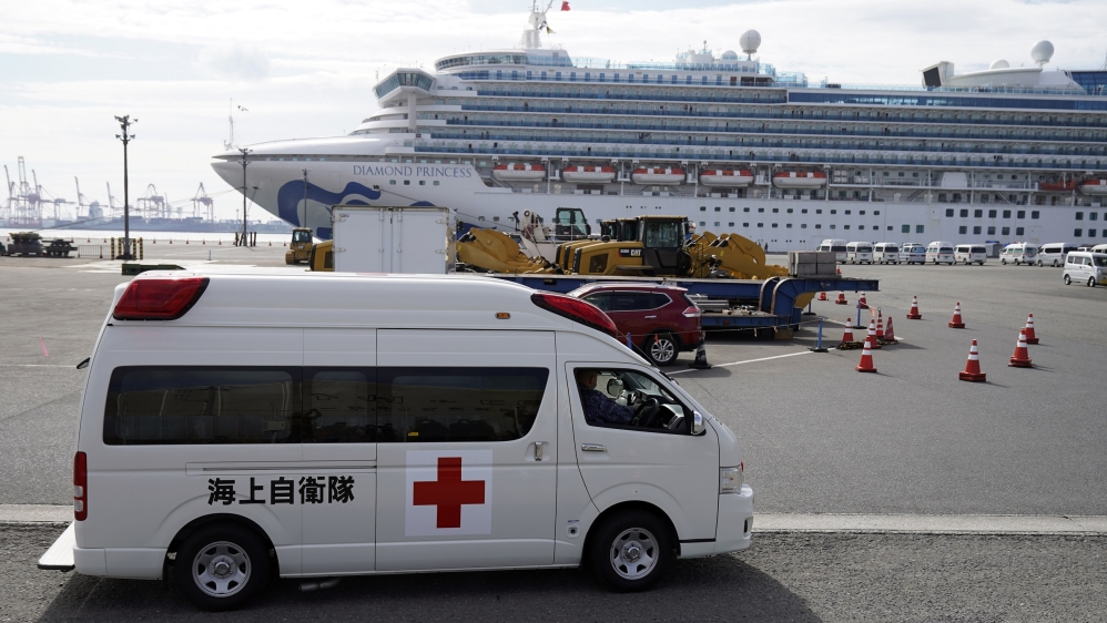 Cruise ship - Japan