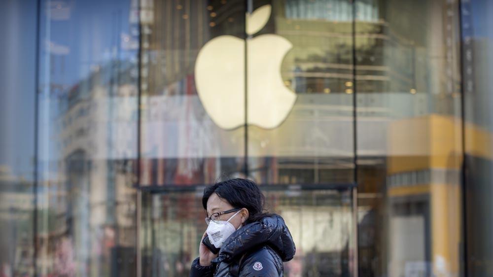 کاهش 60 % فروش آیفون در چین به دلیل ویروس کرونا