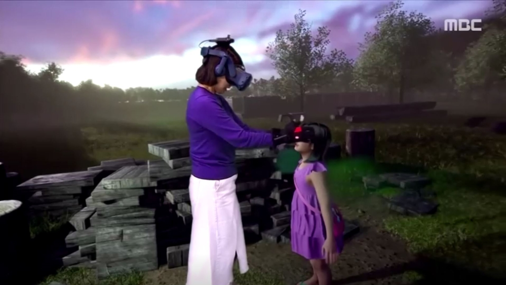 Mother 'reunites' with dead daughter in virtual reality