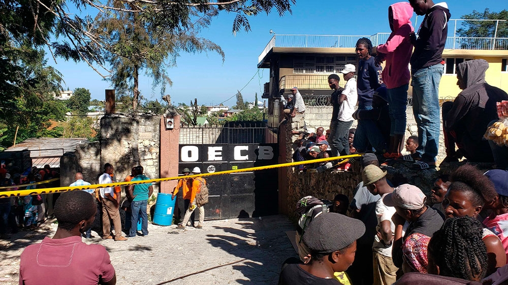 Haiti orphanage fire