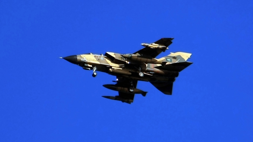 Saudi fighter jet crashes in northern Yemen thumbnail