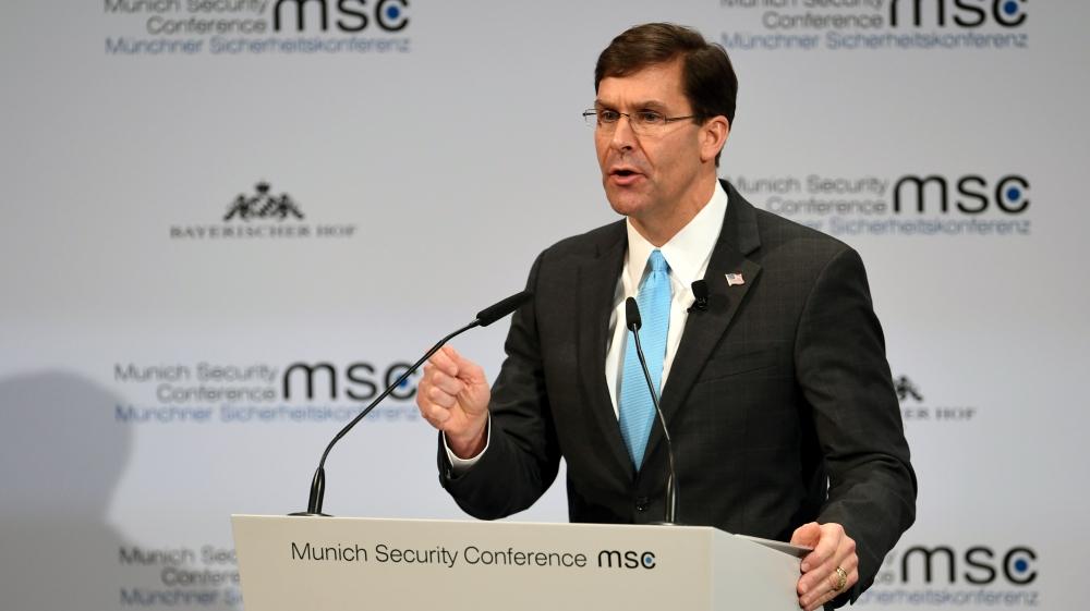 Mark Esper: 'Rising threat' China tops US's adversary list thumbnail