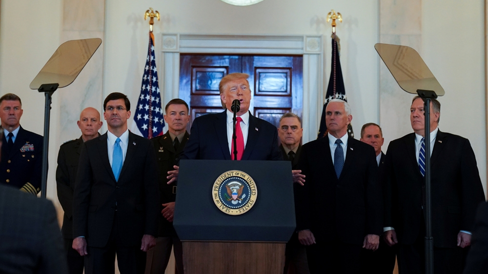 Timeline of Trump's shifting justifications for Soleimani killing thumbnail