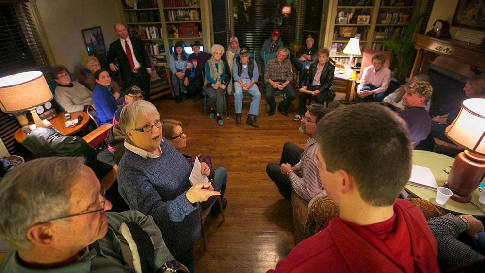 US election 2020 - Iowa caucus