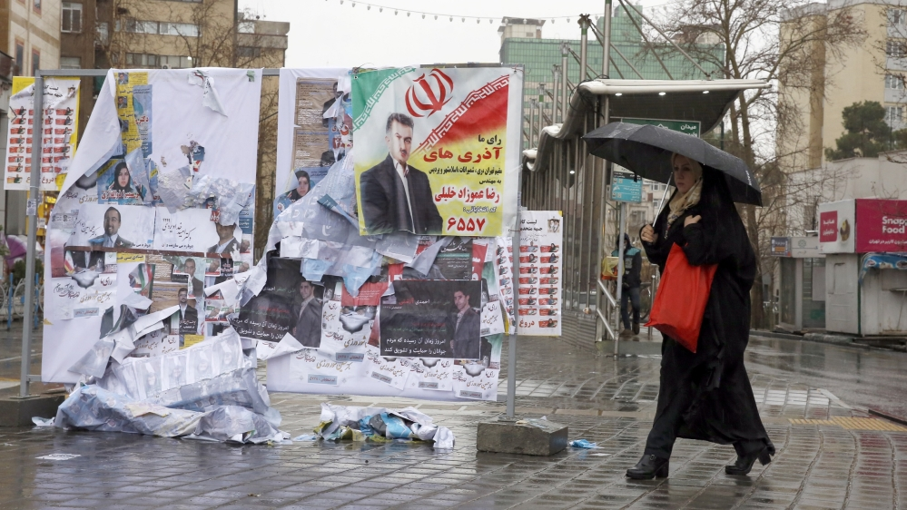 Parliamentary election in Iran - campaigns