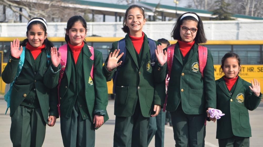 School reopen in Kashmir [Shuaib Bashir/Al Jazeera]