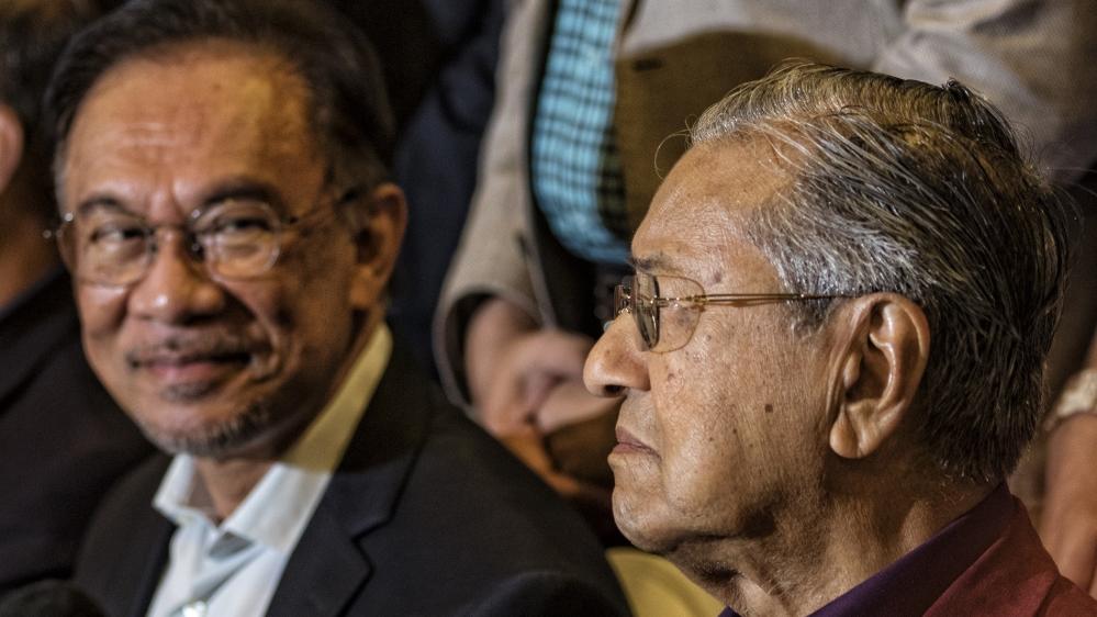 Mahathir - Anwar