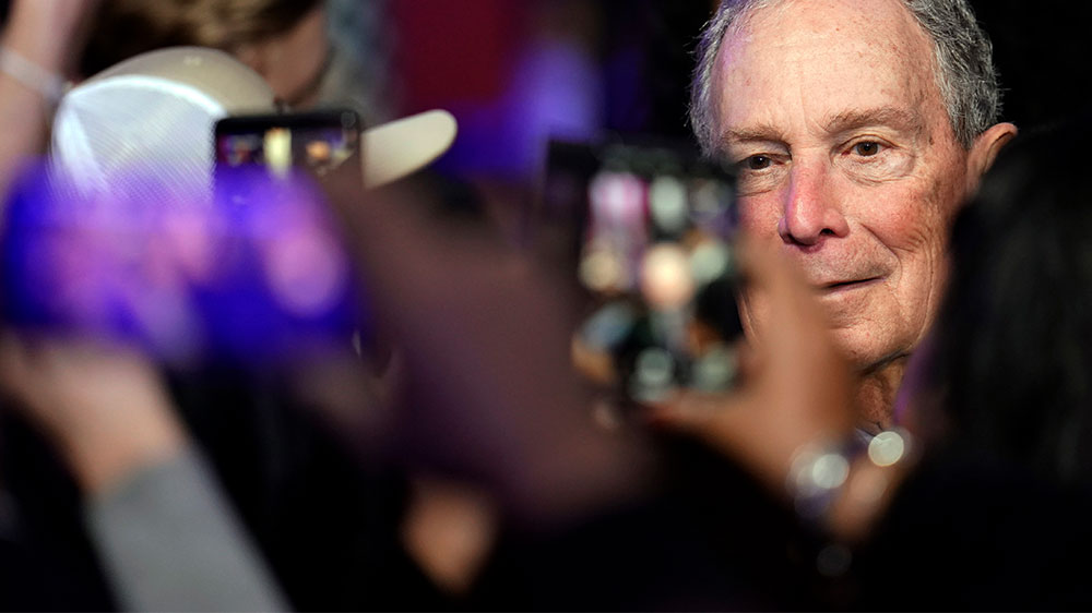 Bloomberg to fund anti-Trump efforts in key US swing states thumbnail