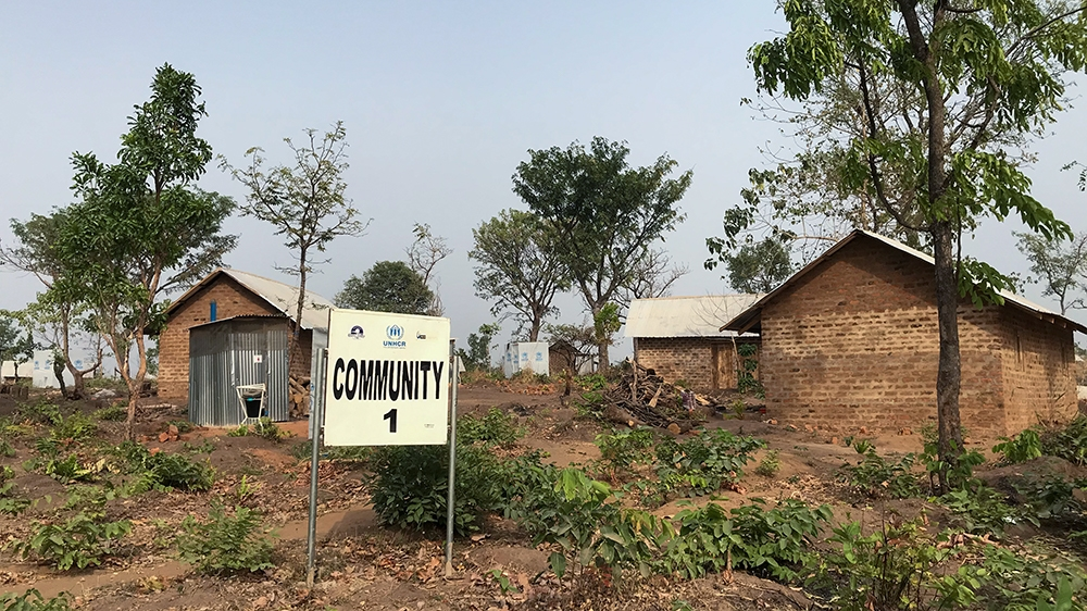 Adagom-3 settlement for Cameroonian refugees was established in late 2019 and it hosts more than 500 refugees [Linus Unah/Al Jazeera]