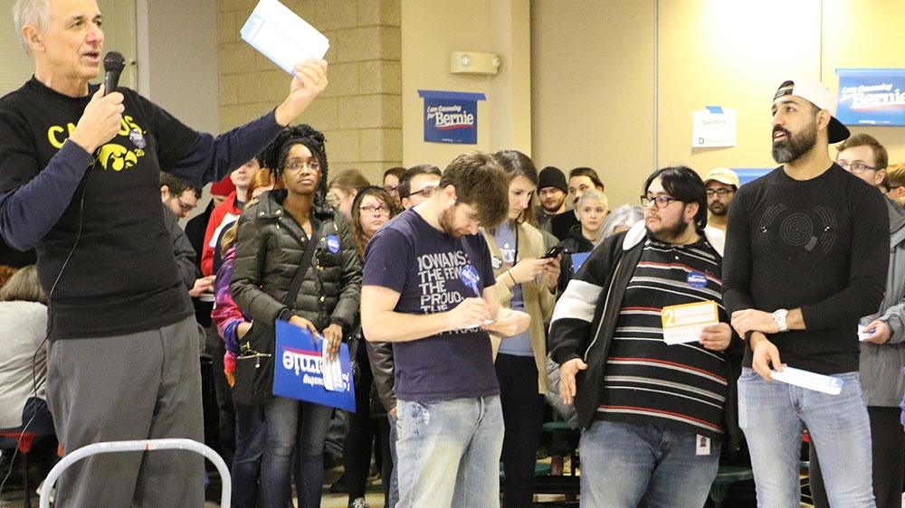 Buttigieg, Sanders Lead In 1st Batch Of Iowa Caucus Results