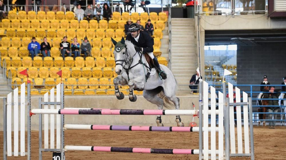 Pakistani equestrian