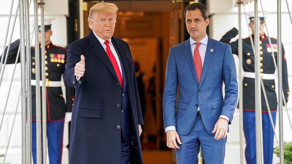 Trump and Guaido