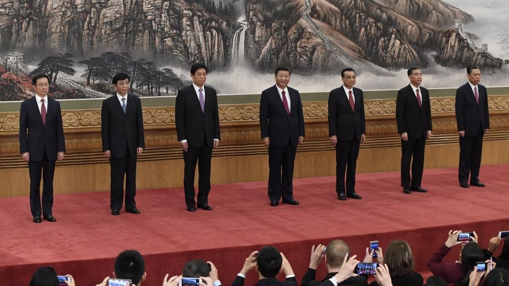 Standing Committee - Xi Jinping