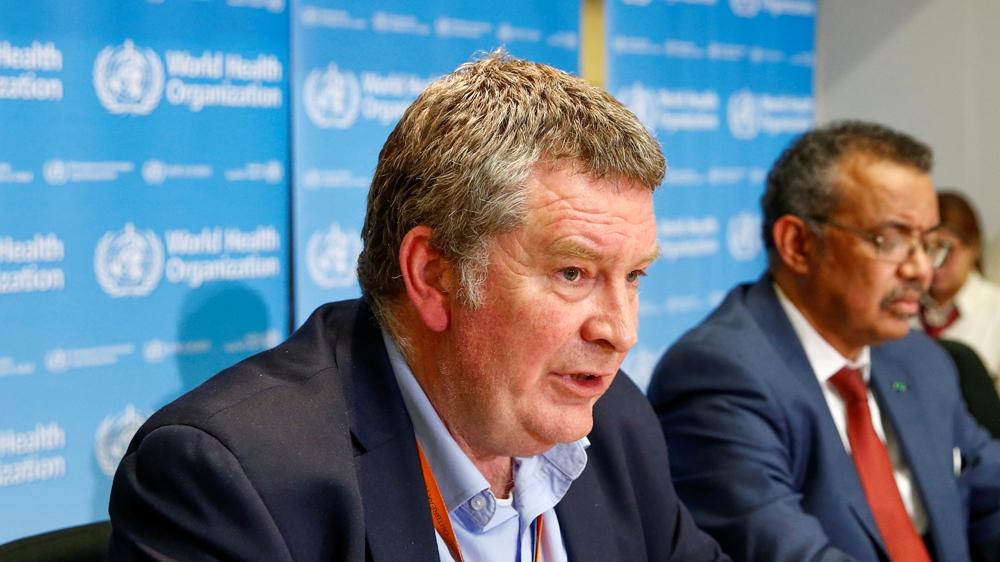 Executive Director of the World Health Organization's (WHO) emergencies program Mike Ryan speaks at a news conference on the novel coronavirus (2019-nCoV) in Geneva, Switzerland February