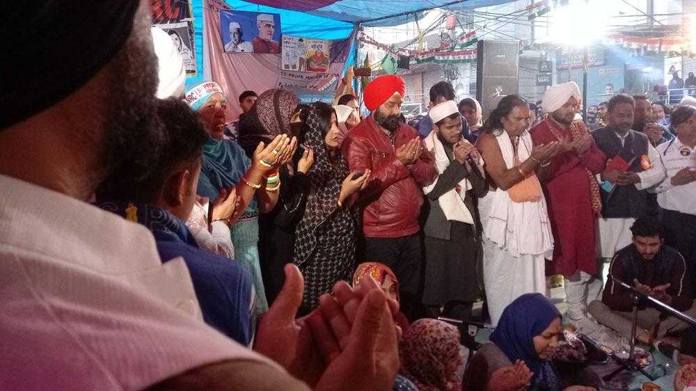 India Delhi protesters